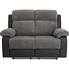more details on Bradley Regular Fabric Recliner Sofa - Charcoal.