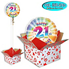 more details on Happy 21st Birthday Balloon in a Box.