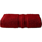 more details on Heart of House Egyptian Single Bath Towel - Cranberry.