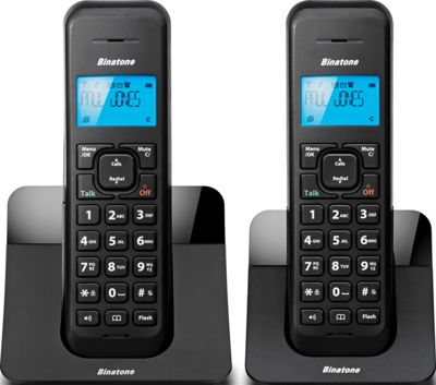 Binatone Luna 1205 Cordless Telephone - Twin