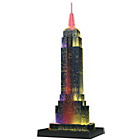 more details on Ravensburger 3D Empire State Building with Lights - 216 Pcs.