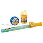 more details on Minions Bubbles, YoYo and Spring Set.