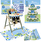 more details on Boys' 1st Birthday Turtle Party Accessory Kit.