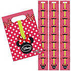 more details on Disney Minnie Mouse Fashion Party Loot Bags -  Pack of 24.