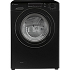 more details on Candy GV158T3B 8KG 1500 Spin Washing Machine-Black/Exp Del.