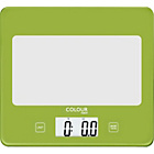 more details on ColourMatch Square Digital Kitchen Scale - Apple Green.