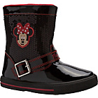 more details on Disney Minnie Mouse Girls' Black Boots - Size 11.