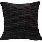 more details on Heart of House Madison Pleated Cushion - Black.