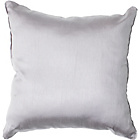 more details on Heart of House Ava Faux Silk Cushion - Dove Grey.