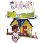 more details on Doc McStuffins Cake Stand and Decorations.