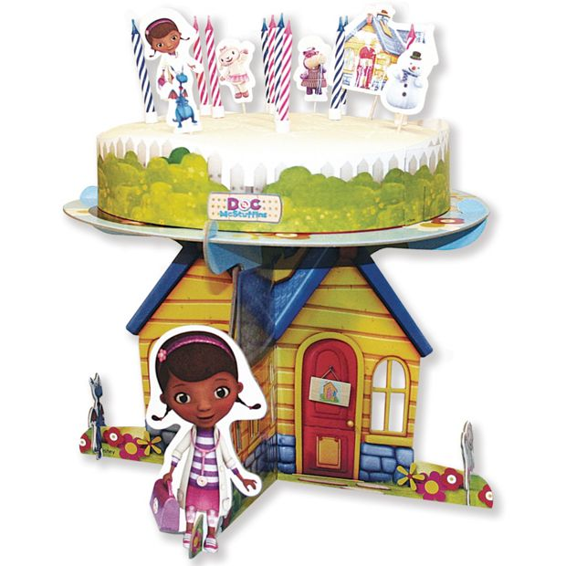 Cake Decorating Argos : Buy Doc McStuffins Cake Stand and Decorations at Argos.co ...