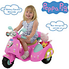 more details on Peppa Pig 6V Ride On Bike with Side Car.