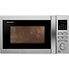more details on Sharp R322STM Standard Microwave - Stainless Steel.