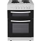more details on Cookworks CET60W Single Electric Cooker - White/Exp.Del.