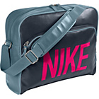 more details on Nike Heritage Track Messenger Bag - Grey.