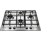 more details on Hotpoint GB641X Gas Hob - Stainless Steel.
