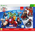 more details on Disney Infinity 2.0 Marvel Super Hero Starter Pack: XBox 360