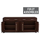 more details on Heart of House Elford 4 Door 2 Dwr Sideboard-Dark Oak Effect