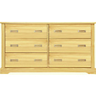 more details on Mendoza 3+3 Drawer Chest - Pine.