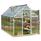 more details on Palram Mythos Silver Greenhouse - 6 x 10ft