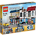 more details on LEGO® Creator Bike Shop and Cafe 31026.