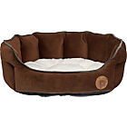 more details on Petface Country Medium Oval Pet Bed - Chocolate.