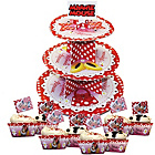 more details on Disney Minnie Mouse Cup Cake Kit and 3 Tier Cake Stand.