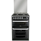 more details on Hotpoint CH60DHKFS Dual Fuel Cooker - Black.