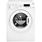 more details on Hotpoint SWMD8437P 8KG 1400 Washing Machine- Ins/Del/Rec.