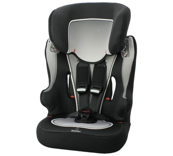 Babystart Racer Group    Black Car Seat