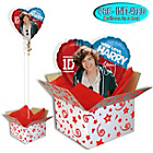 more details on One Direction Foil Balloon in a Box - Harry.
