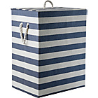 more details on HOME Laundry Box - Blue and White.