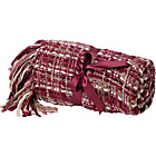 more details on Heart of House Bailey Throw - Cranberry.