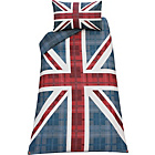 more details on Union Jack Multicoloured Bedding Set - Single.