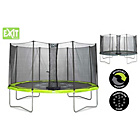 more details on EXIT Twist 14ft Green/Grey Trampoline and Enclosure.