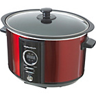 more details on Morphy Richards 460005 3.5L Digital Slow Cooker - Red.