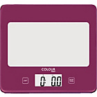 more details on ColourMatch Square Digital Kitchen Scale - Purple Fizz.