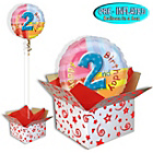 more details on Happy 2nd Birthday Balloon in a Box.
