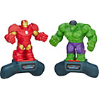 more details on Battlemasters Marvel Game Two Pack - Hulk and Iron Man