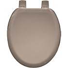 more details on Bemis Chicago Moulded Wood Toilet Seat - Soft Cream.