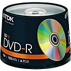 more details on TDK DVD-R Pack of 50 on a Spindle.