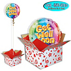 more details on Get Well Soon Balloon in a Box.