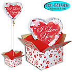 more details on Love You Script Balloon in a Box.