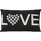 more details on Heart of House Valentine Cushion - Black.