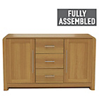 more details on Heart of House Elford 2 Door 3 Dwr Sideboard - Oak Effect.