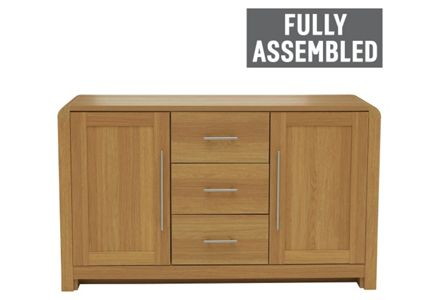Heart of House Elford 2 Door 3 Drawer Sideboard