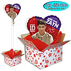 more details on One Direction Balloon in a Box - Zayn.