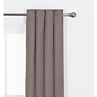 more details on Heart of House Hudson Textured Curtains - 228x228cm - Mocha.