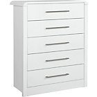 Buy Home Normandy 4 Drawer Chest White At Argos Co Uk