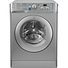 more details on Indesit XWD71452S 7KG 1400 Spin Washing Machine-Ins/Del/Rec.